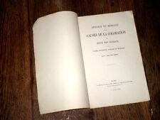 défense du mémoire sur causes de la coloration des oeufs des oiseaux 1860 Cornay