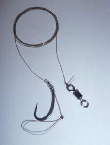 Zig Rigs On Teflon Hooks hair rigs carp course fishing tackle swivels hooks