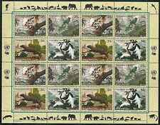 Timbres Animaux Nations Unies New York F 839/42 ** année 2001 lot 4161