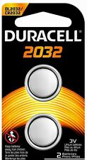 Duracell Duracell 3 Volt Coin Cell CR2032 Lithium Battery 2-pack