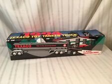 Texaco 1994 Toy Tanker Truck Sound Lights 1st in collector series MINT