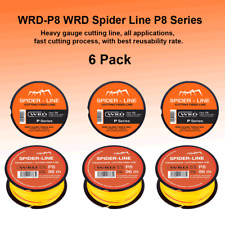 Wrd Spider P8 Series 315 Ft Auto Glass Windshield Cut Out Fiber reusable Line