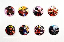 Naruto Shippuden Badges / Sasuke, Naruto, Sai, Sakura, Itachi, Kakashi