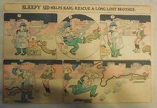 Sleepy Sid Helps Karl Rescue a Long Lost Brother from 1905 Half Page Size!