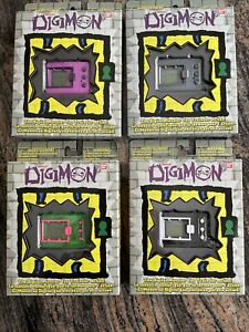 Digimon 20th Anniversary Tamagotchi Digivice Digital Pet🔥 Blue Pink Green Black
