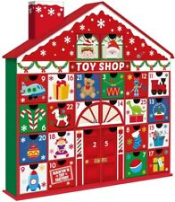 Toy Shop Christmas Advent Calender House Countdown To Christmas 24 Draws