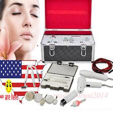 USA 5 in 1 HF Electropathy Galvanic Vacuum Spray Facial Spa Salon Beauty Machine
