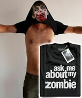 Ask Me About My Zombie Impression Flip Tee Mens T-Shirt - Great Gift Present!