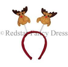 Complementos de color principal marrón de poliéster para disfraces y ropa de época, Navidad