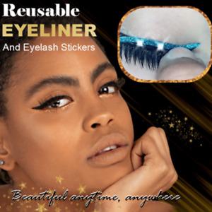 Reusable Eyeliner And Eyelash Stickers NEW 2021