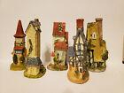 Set+of+5+miniature+house+figurines