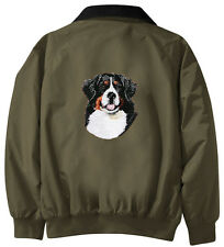 Bernese Mountain Dog Embroidered Jac