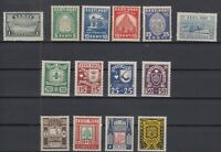 AY5563/ ESTONIA – 1936 / 1940 MINT SEMI MODERN LOT – CV 150 $