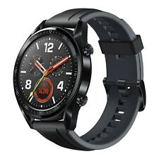 New Huawei Watch GT 128MB GT-B19S Black Stainless Steel Bluetooth Smartwatch