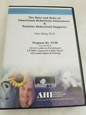 AHI Trade Lecture: The Nuts & Bolts of FBA & Positive Behavioral Supports CD NEW