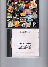 Lot de deux CD originaux sur le rock et le rock progressif