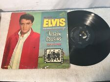 Vintage Elvis Presley Kissin Cousins Record RCA MONO 1960s 2894 Fair Condition