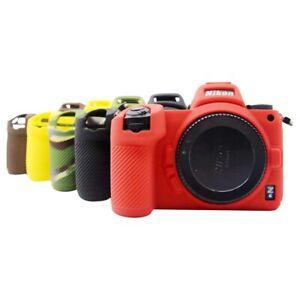 Soft Silicone Rubber Protective Body Cover Case Skin For Nikon Z6 Z7 case Bag