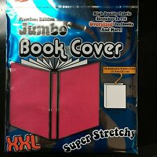 Pink Jumbo Book Cover Super Stretch High Quality Fabric XXL  - It's Academic
