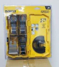 DeWalt DT20715-QZ Multi-Tool 5 Piece Accessory  with Case