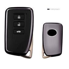 Remote Key TPU Soft Gel Case Cover Lexus NX GS RX IS ES GX LX RC Series Black