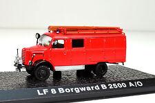 LF 8 Borgward B 2500 A/O Maßstab 1:72  Feuerwehr von Atlas