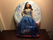 2016 HOLIDAY AFRICAN AMERICAN BARBIE NEW L@@K