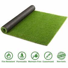 10x6.6ft Synthetic Landscape Fake Grass Mat Artificial Pet Turf Lawn Garden Yard