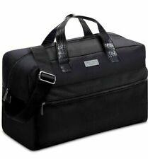JIMMY CHOO Parfums MEN'S Croco BLACK DUFFEL Weekend GYM Travel Holdall Bag NWT!