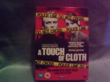 A Touch of Cloth Season 1 + 2 + 3 Series DVD Region 2 The Complete Case Files