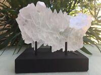 """8.25"""" Display Stand Gemstone Mineral Specimen Stand Citrine Amethyst Geode Stand"""