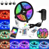 10M 5050 WiFi  LED Strip Lights RGB SMD Waterproof Lamp Remote 12V power supply