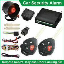 UNIVERSAL CAR SECURITY ALARM SYSTEM REMOTE CENTRAL LOCKING IMMOBILISER 12V