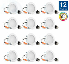LOT of 12 Hyperikon 4 Inch Dimmable Recessed LED Downlights 9W 4000k NEW in Box