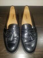 Magnanni Black Leather Kiltie Tassel Loafer Slip On Made in Spain Men's  11.5 M