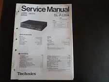 Original Service Manual Technics Compact Disc Player SL-PJ28A