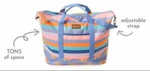 """NWT Matilda Jane Lets go together Lets Go Weekender Bag Tote 14"""" x 23.5"""" NEW"""