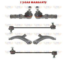 RENAULT CLIO MK3 FRONT WISHBONE CONTROL ARM + DROP LINK AND TRACK ROD END KIT