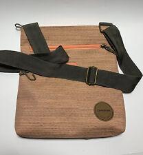 Dakine Crossbody Purse Canvas Slim Orange Shoulder Bag