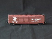 N Scale Pennsylvania Railroad Box Car Brown