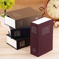 BUCHSAFE Tresor Buchtresor Buch Geldkassette Safe Buchattrappe Geldversteck Blau