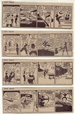 Dick Tracy by Chester Gould - 24 daily comic strips - Complete February 1957