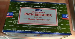 Path breaker NAG CHAMPA INCENSE STICKS JOSS INSENSE 15G x 12 boxes  Brand New