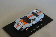 Spark S4070 - FORD GT 40 n°11 Le Mans 1968 J.Oliver - B.Muir 1/43