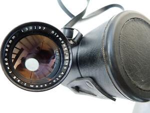 Olympus Pen F 50-90mm 3.5 Zoom Lens w/ Box! VERY GOOD.