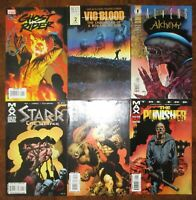 Richard Corben Lot Punisher The End Vic and Blood Aliens Alchemy 1 Ghost Rider