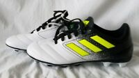 Adidas Ace 17.4 FG NEW Youth Boys BA8564 Black Yellow White Soccer Cleats Size 5