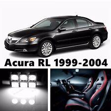 19pcs LED Xenon White Light Interior Package Kit for Acura RL 1999-2004