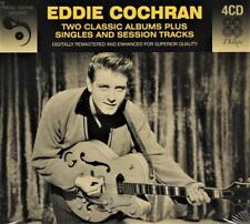 EDDIE COCHRAN - 2 CLASSIC ALBUMS PLUS BONUS SINGLES & SESSION (NEW 4CD) Two