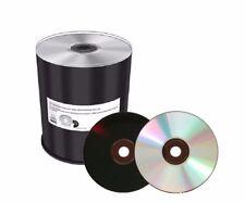 100 MediaRange Silver Non printable Black Bottom diamond dye 700MB 52x CD MR285